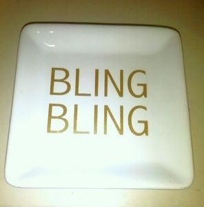 Bling bling jewelry tray